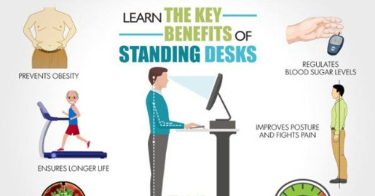 Reasons Why Using a Standing Desk is Good for Your Body   Top 10 Home Remedies