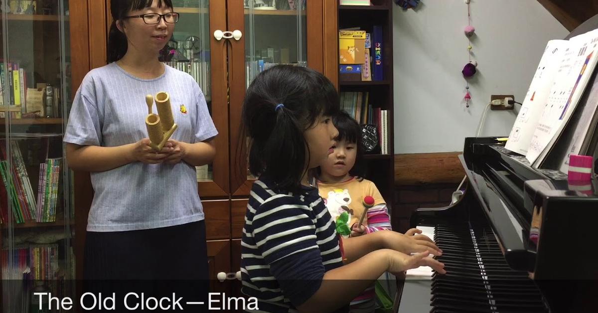 The Old Clock—Elma