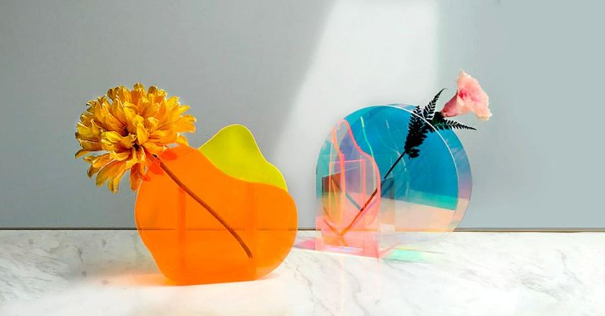 【Abstract Love】光影幾何花器 兩件免運