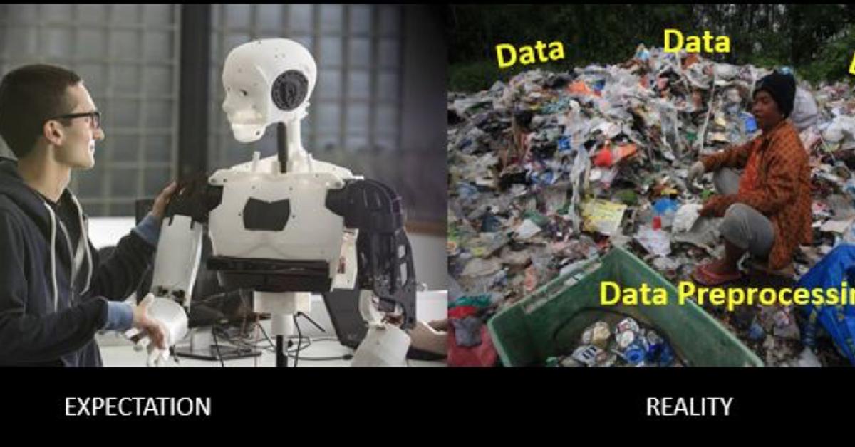 資料前處理必須要做的事 - 資料清理與型態調整