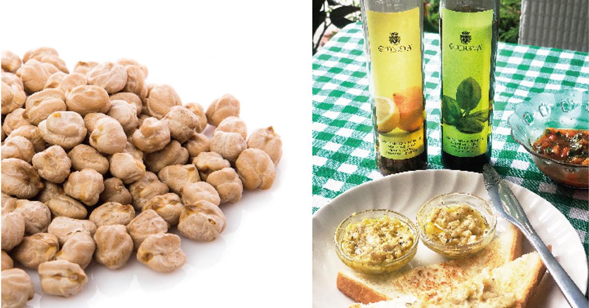 檸檬橄欖油鷹嘴豆泥抹醬搭吐司,簡單營養又好吃!