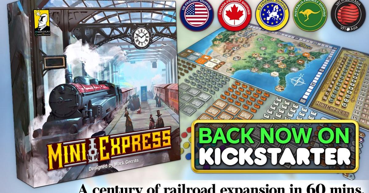 Mini Express is live on Kickstarter!