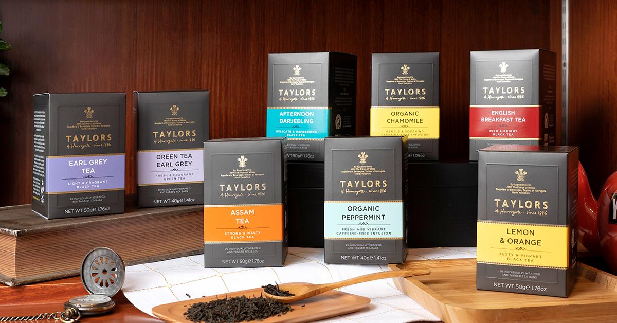 英國、日本皇家都認證的泰勒茶,路易莎將它做出招牌茶飲