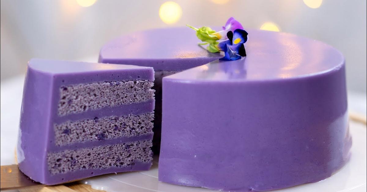 紫薯千层蛋糕 | 果冻蛋糕 | 夏日甜品  Purple Sweet Potato Layer Cake | Jelly Cake | Summer Dessert 小雁/我的爱心食谱]