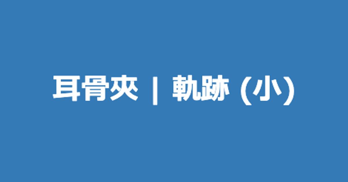 耳骨夾   軌跡 (小)