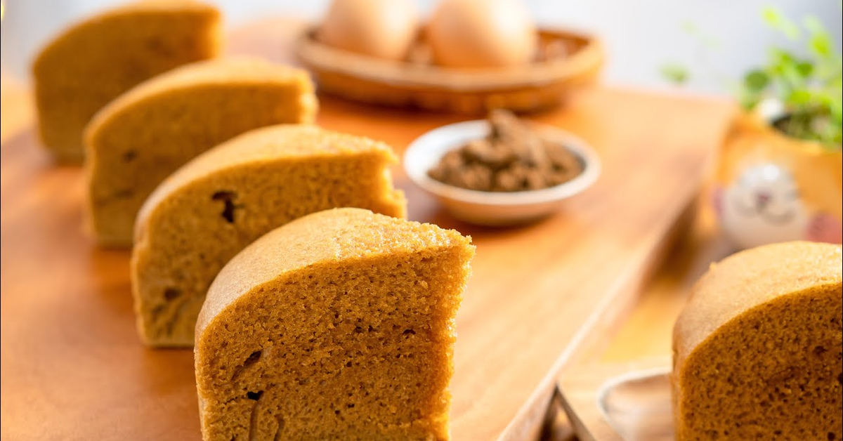 马来糕 / 马拉糕 Steamed Malay Cake (Ma Lai Gao) | 用普通模具蒸蛋糕 小雁/我的爱心食谱]