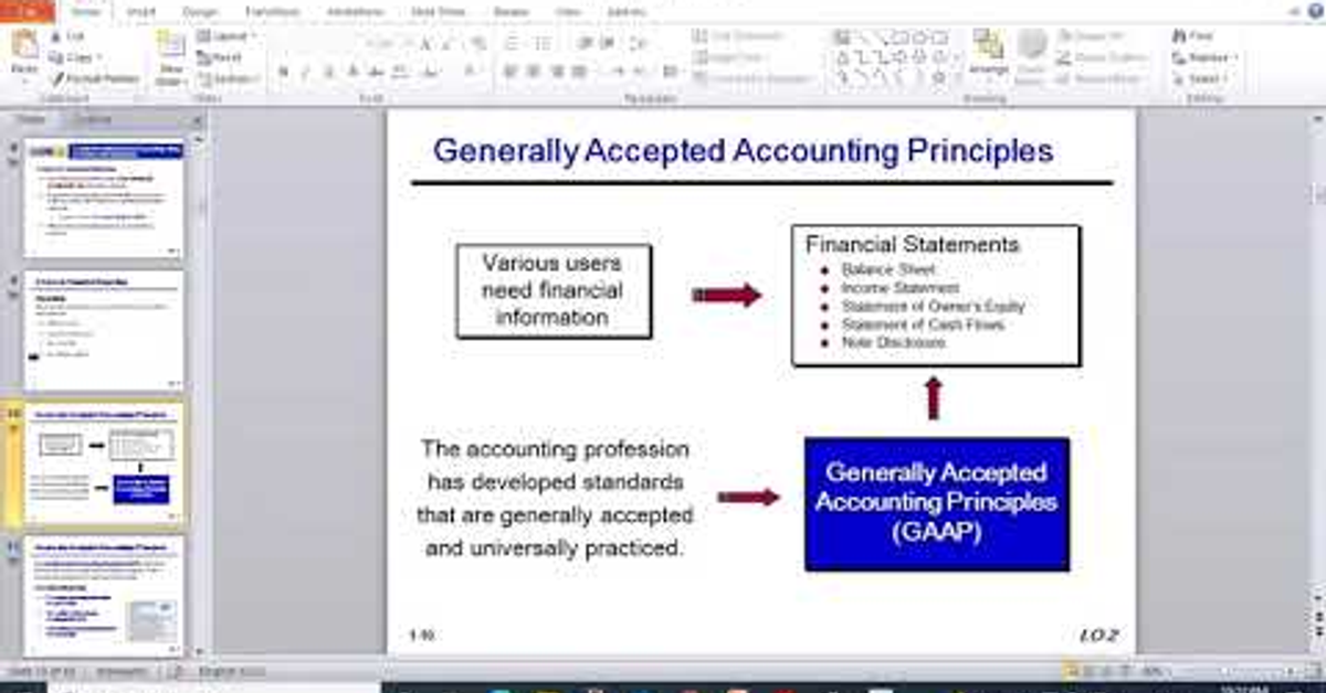Financial accounting course/Chapter1: Accounting in action part 2