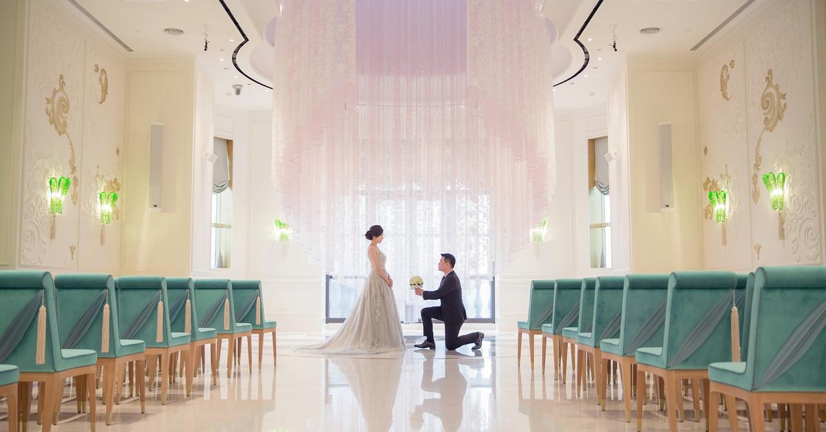 台北文華東方酒店 高雅質感與奢華的六星婚宴場地,盡享世紀浪漫婚禮攝影全公開!